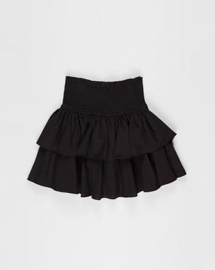 Decjuba Kids Sky Ruffle Skirt   Teens - Skirts (Black)