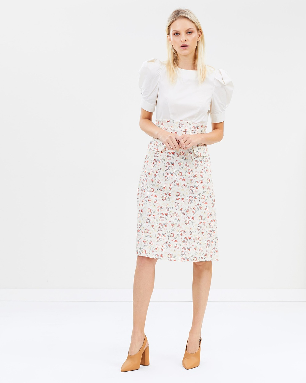 MAX & Co. Panfilo Dress Printed Dresses Ivory Pattern Panfilo Dress