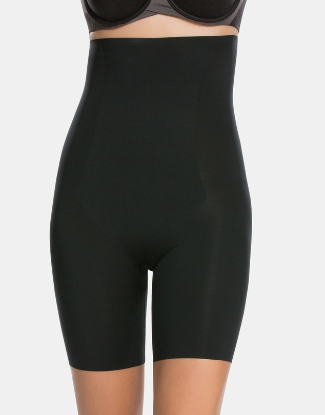 Spanx - Thinstincts High-Waisted Mid-Thigh Shorts