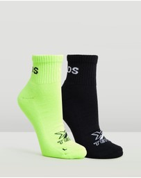 Bonds - X-Temp Quarter Socks 2-Pack