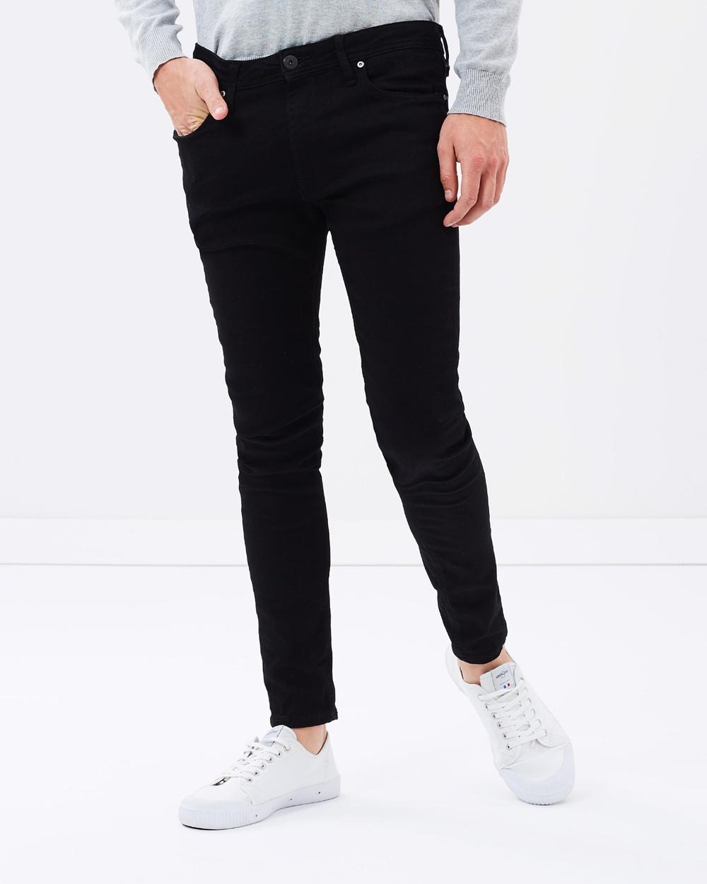 Jack & Jones Liam Jeans Skinny Fit Black