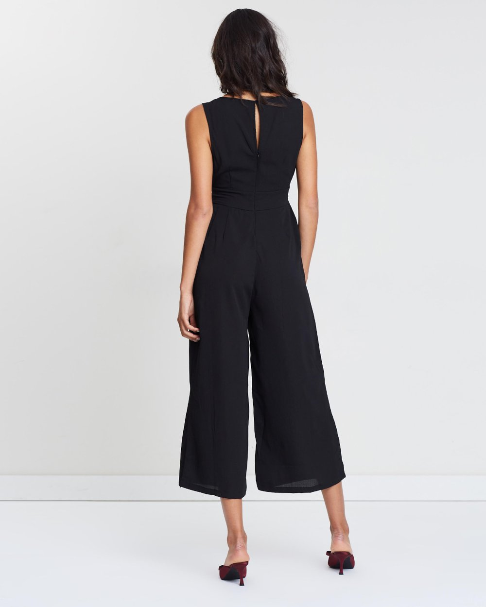 c99e93be54ac Woven Tara Sleeveless Jumpsuit by Cotton On Online