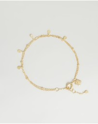 By Charlotte - Illuminate Gold Bracelet