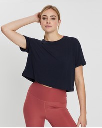 Nimble Activewear - Cut The Crop Tee