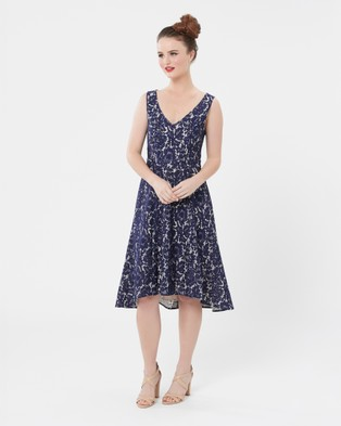 Review – A NIGHT ON THE TOWN DRESS – Dresses (Navy)