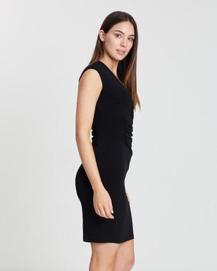 Faye Black Label Fixed Warp Dress - Dresses (Black)