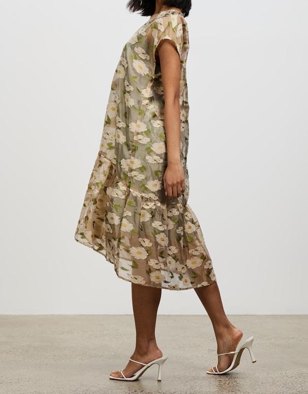 Women Light Jacquard Dress