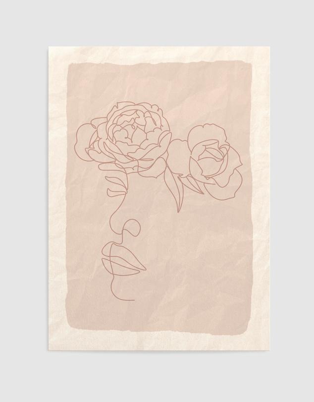 Life She Blooms II Art Print A3
