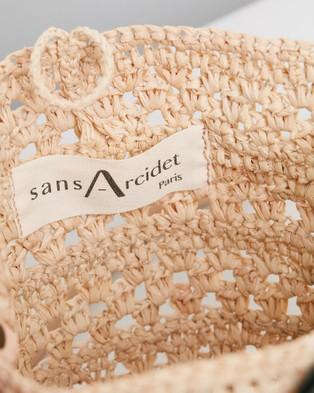 Sans Arcidet Paris Kapity Small Bag - Handbags (Natural)