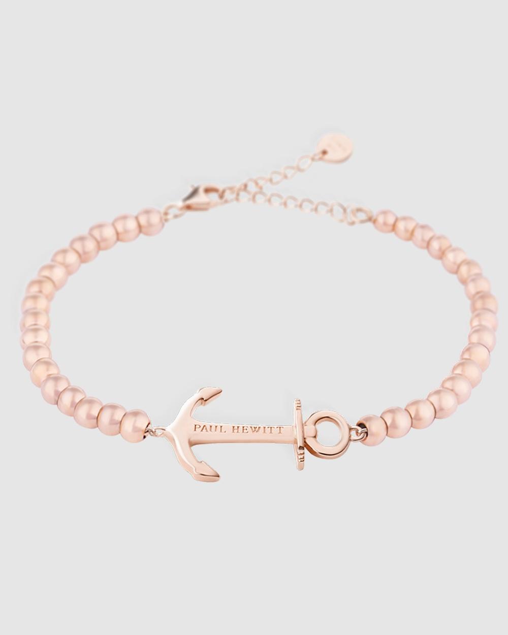 Paul Hewitt Anchor Spirit Stainless Steel Bracelet Jewellery Rose Gold