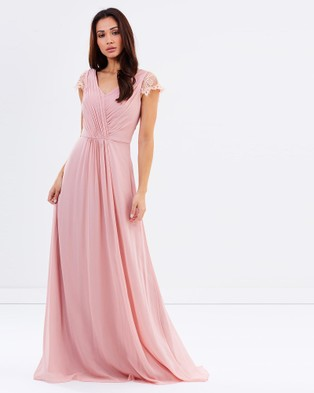 Tinaholy – Captivated By You – Bridesmaid Dresses Mushroom Pink