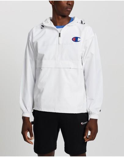 Champion Packable Stadium Jacket White