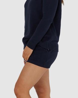 legoe Knit Shorties - Shorts (Navy)
