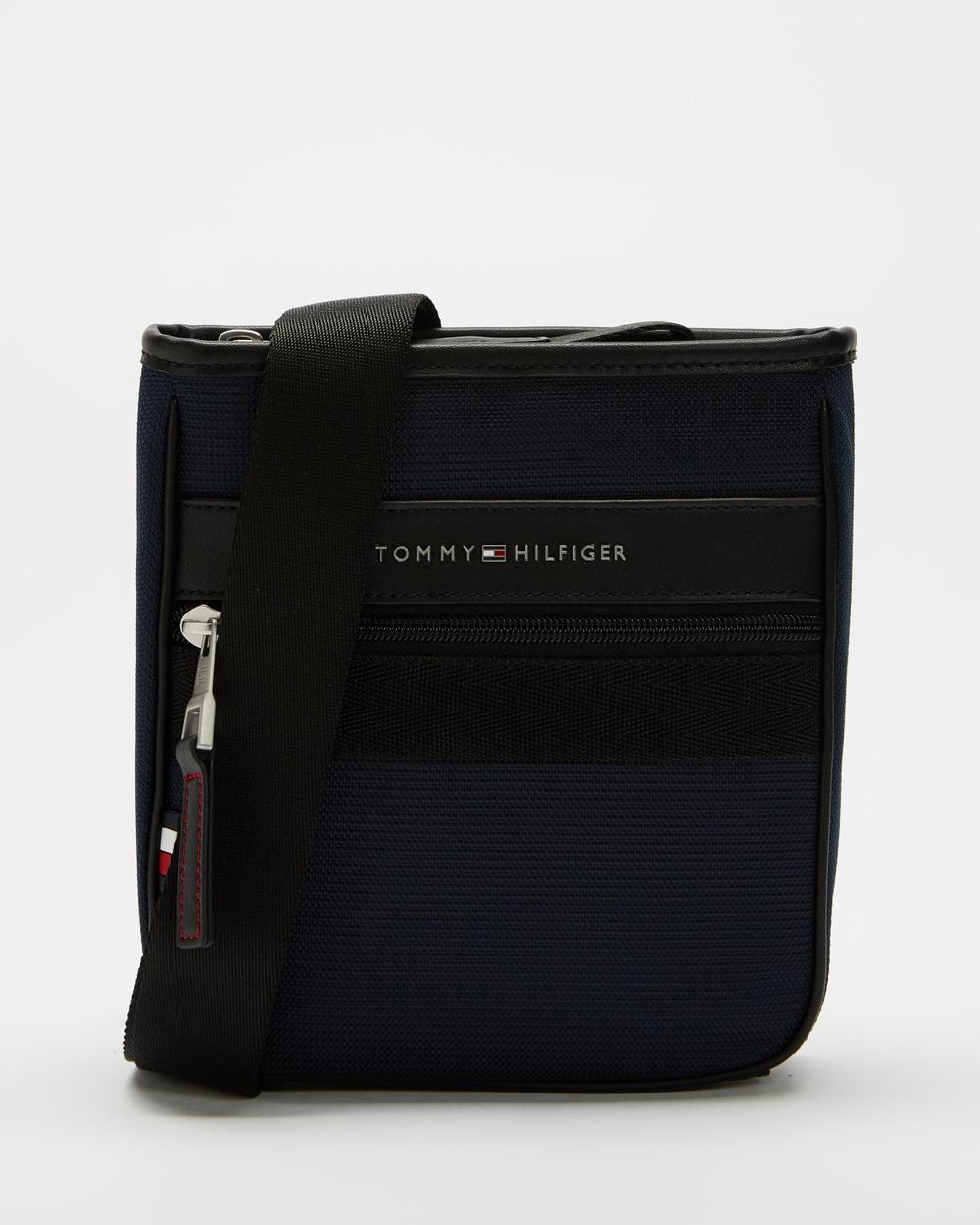 Tommy Hilfiger Elevated Nylon Mini Crossover Bag Bags Desert Sky