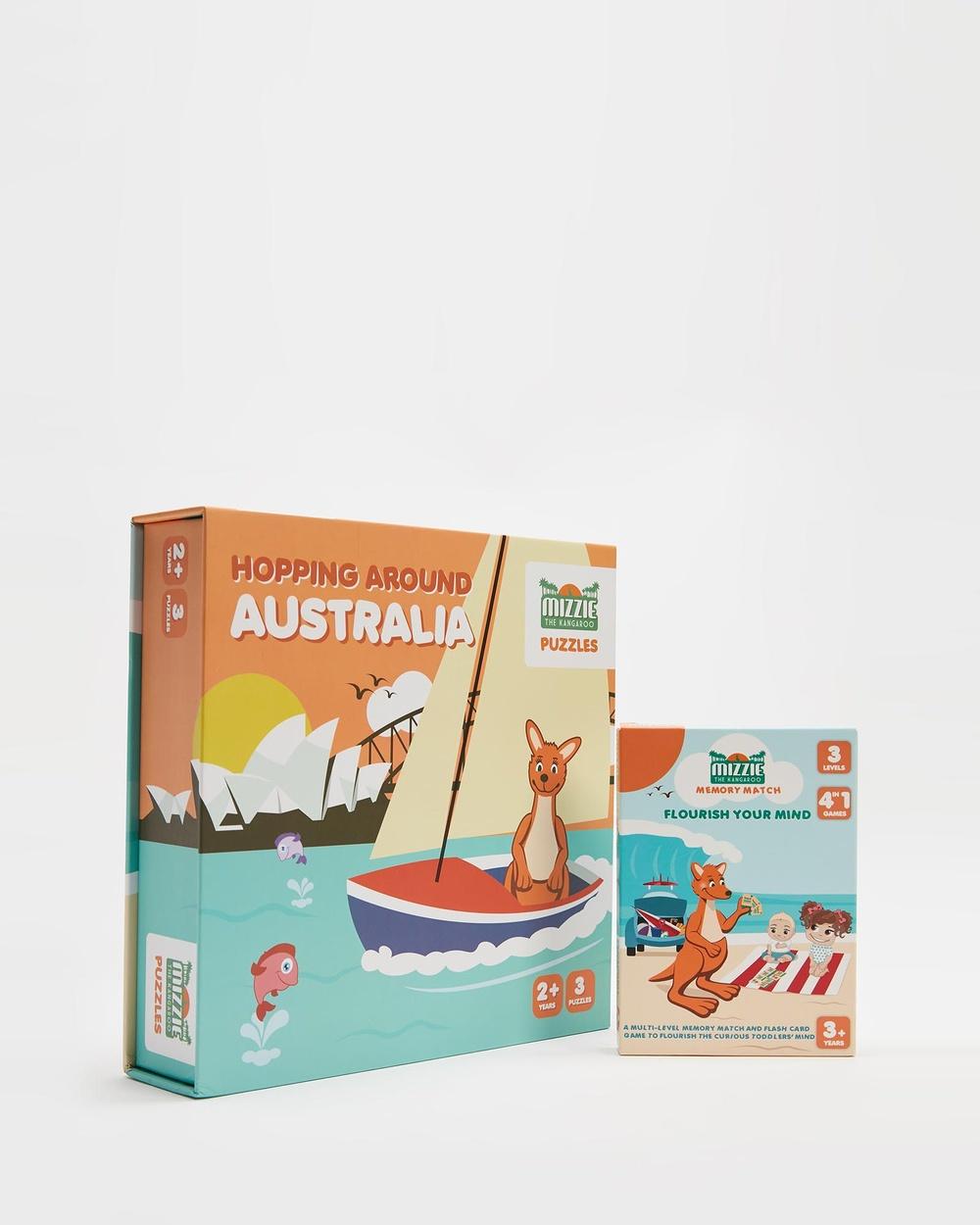 Mizzie The Kangaroo 'Little Solver' Toddler Gift Set All toys Multi All toys Australia