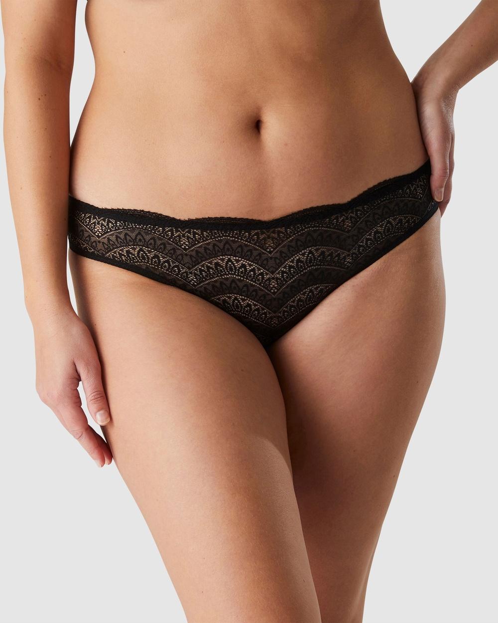 Simone Perele Karma Bikini Brief Hipster Briefs Black Australia