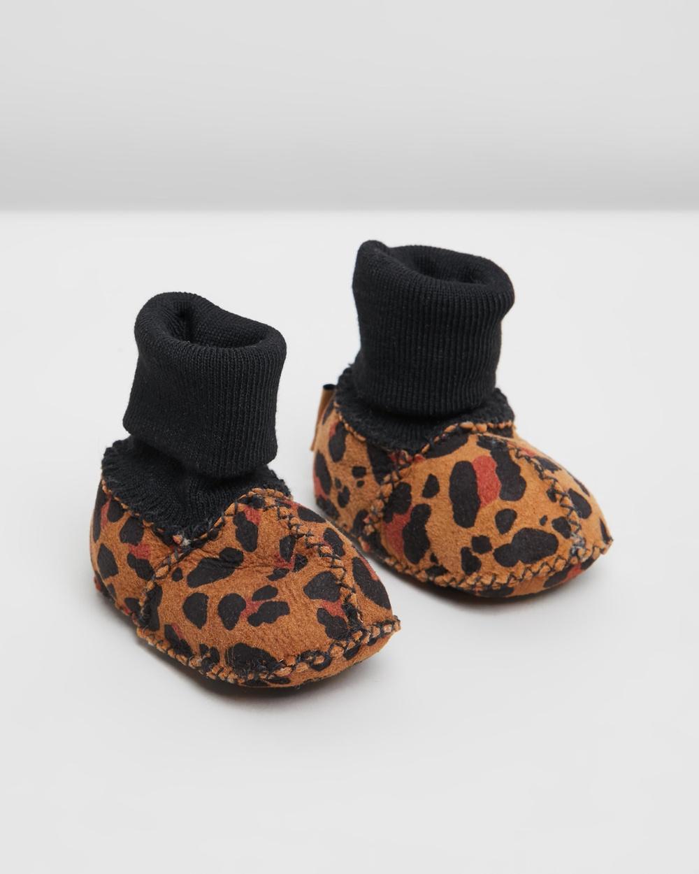Kip&Co Sheepskin Booties Socks Tarzan
