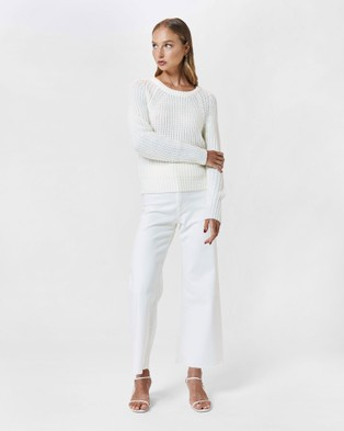 MVN Jupiter Knit - Jumpers & Cardigans (Cream)