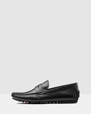 AQ by Aquila Henmore Driving Shoes - Casual Shoes (Black)