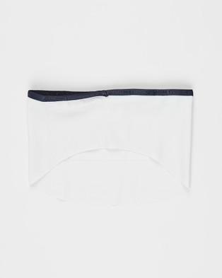 Henri Lloyd Tube Face Covering 2 Pack & Filter - Wellness (White)