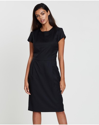 Farage Core Bianca Dress Black