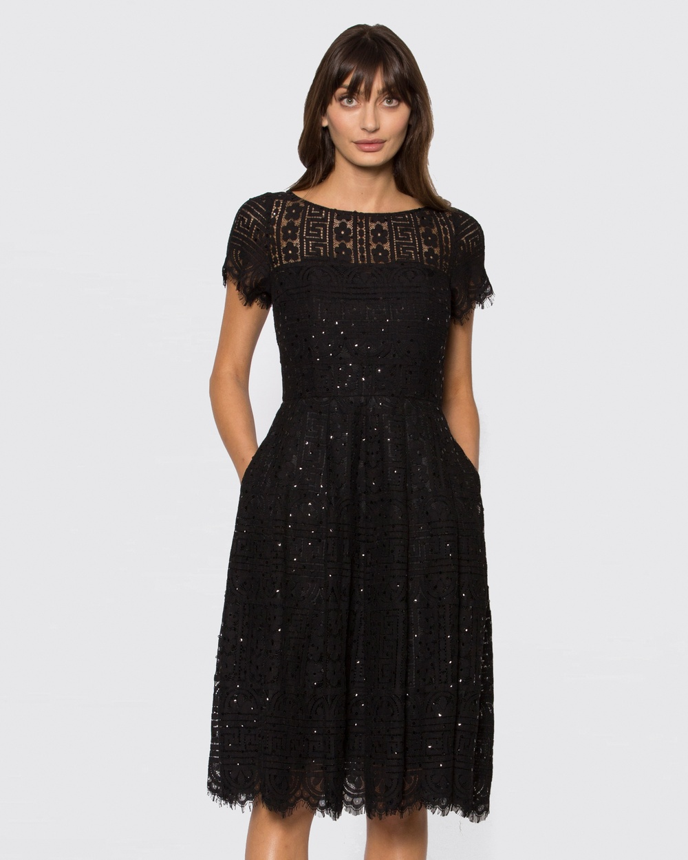 Alannah Hill Black Twice The Charm Dress