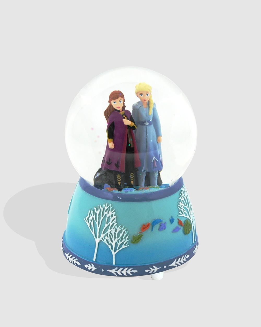 Disney Frozen 2 by Pink Poppy Wind up Musical Snow Globe All toys Blue Wind-up