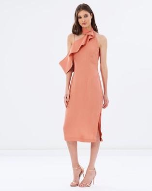 Keepsake the Label – Laika Midi Dress – Dresses (Dusk)