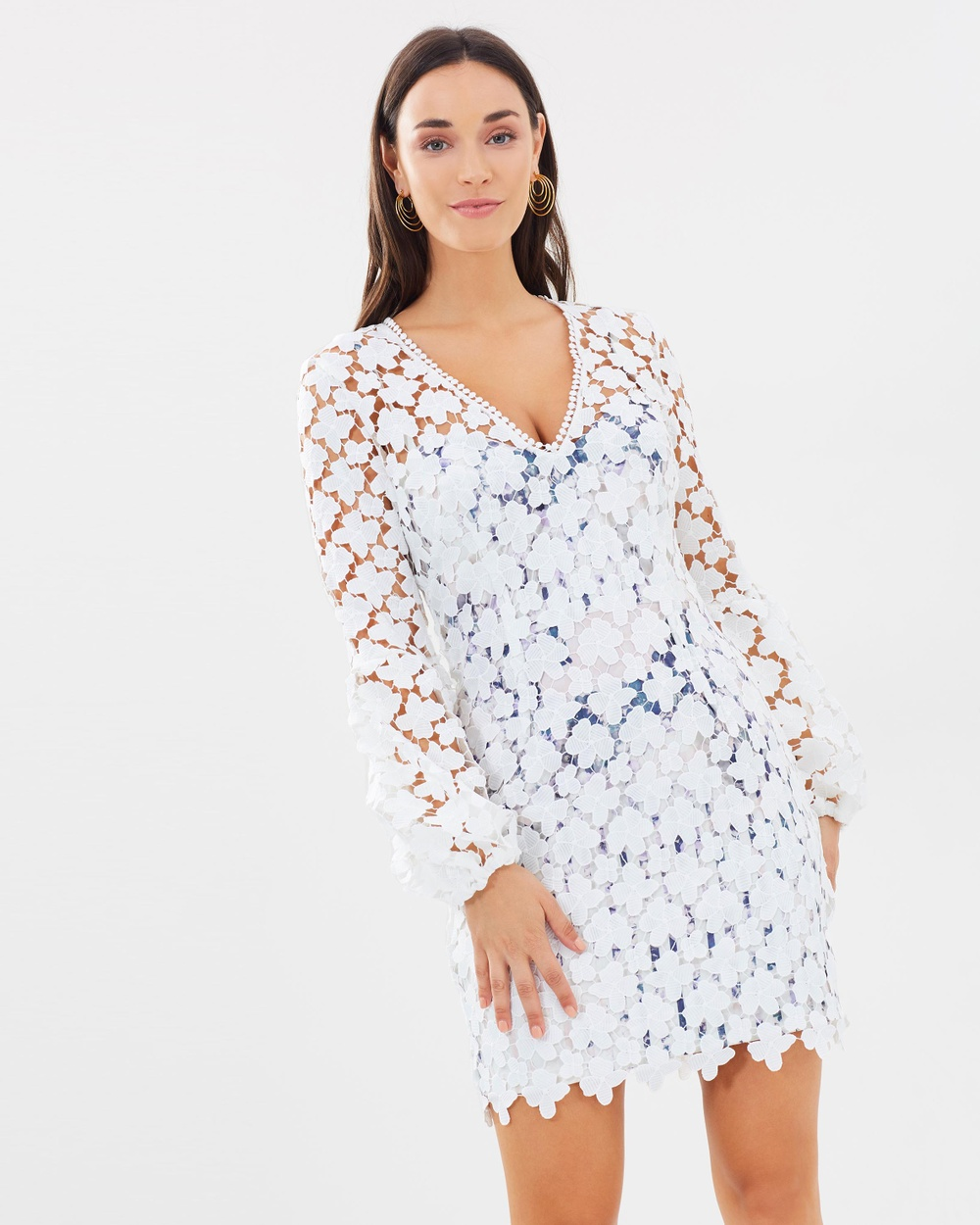 Pasduchas Tribe Lace Dress Dresses White Tribe Lace Dress