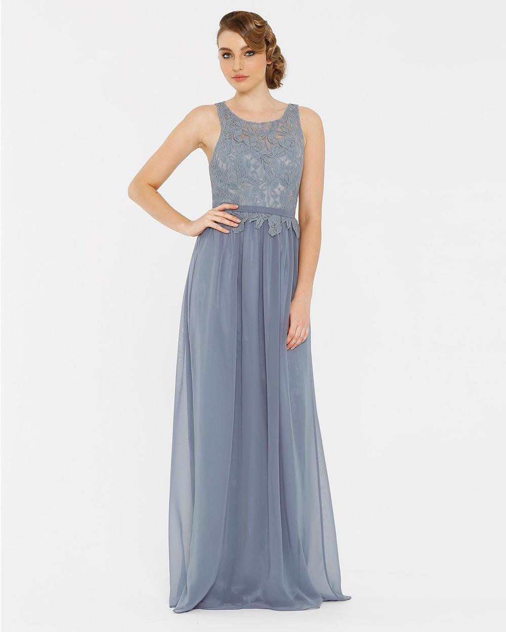 Tania Olsen Designs Sophia Dress Bridesmaid Dresses Dusty blue Sophia Dress