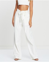 Dazie - Summer Nights Linen Blend Wide-Leg Pants