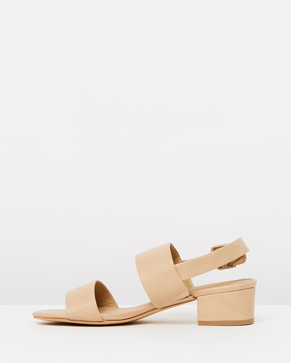 705d70fa438 Lou Low Block Heels by SPURR Online