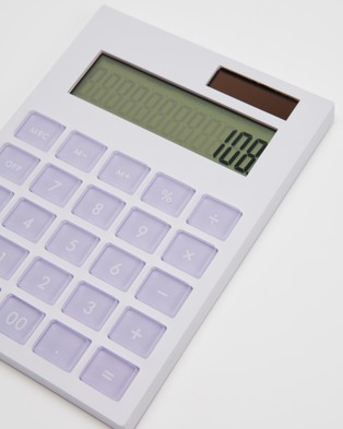 Kate Spade Calculator - All Stationery (Lilac Colorblock)