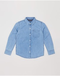 Tommy Hilfiger - Long Sleeve Denim Shirt - Teens
