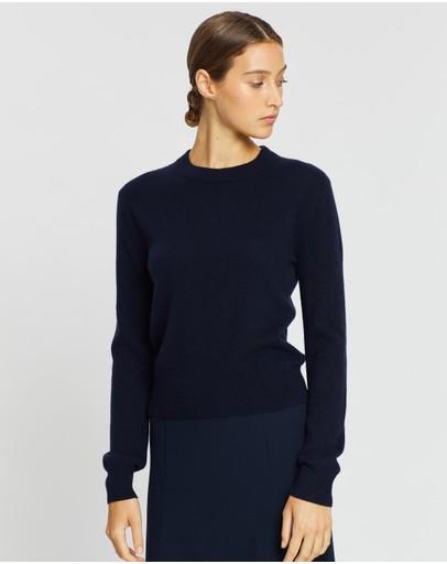 Jac + Jack Peter Sweater Darkest Navy