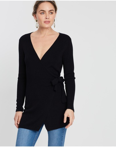 Fresh Soul Vermont Knit Top Black