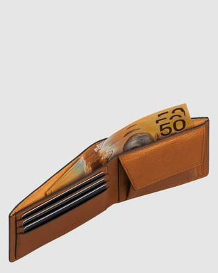 The Horse The Barney Wallet - Wallets (Tan)