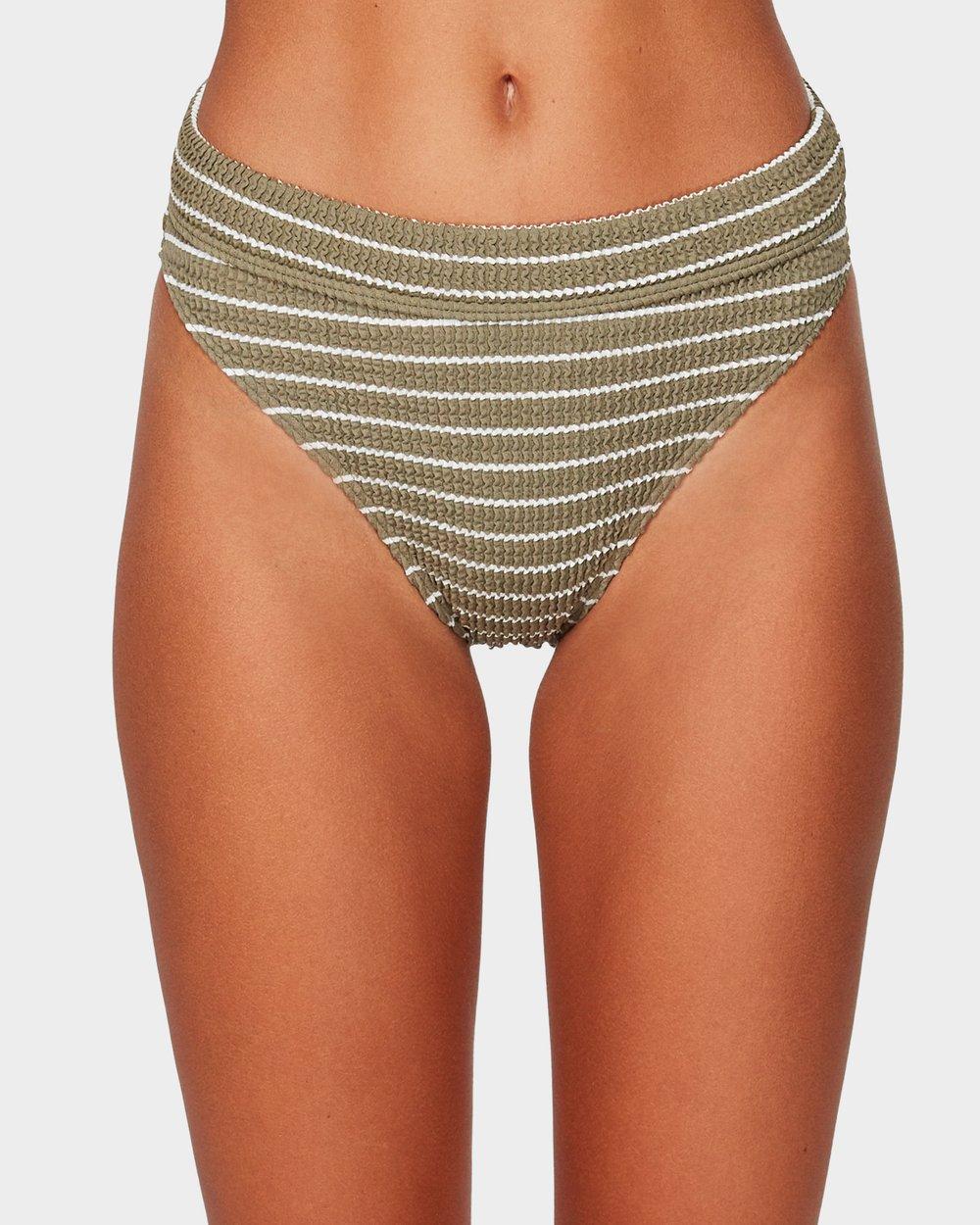 00224d032336e4 Hula Stripe Maui Rider Bikini Bottoms by Billabong Online