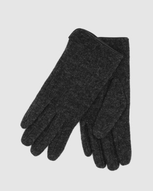 Morgan & Taylor Valentina Gloves - Scarves & Gloves (Grey)