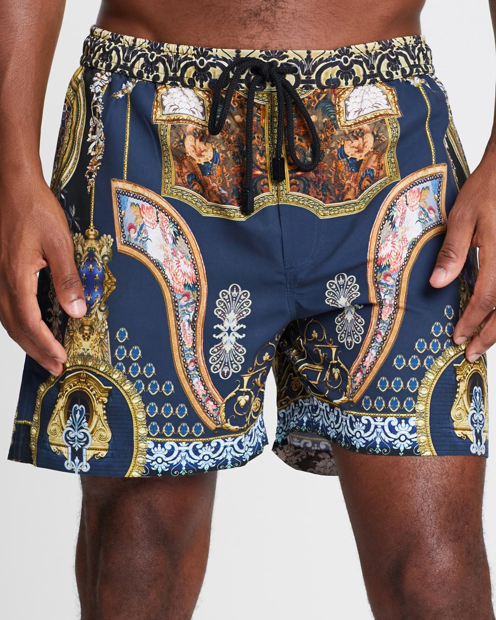 07e1ce4a54 Midnight Meeting Elastic Boardshorts by Camilla Online | THE ICONIC |  Australia