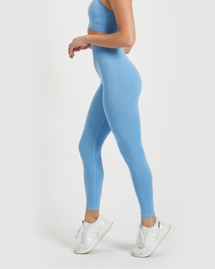 Core Trainer Maya Tights - Sports Tights (Blue)