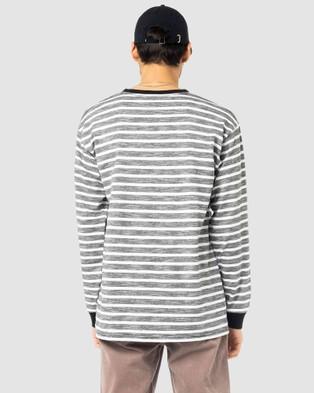 Rusty Frenzy Long Sleeve Tee T-Shirts BLK