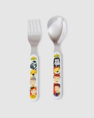 The Wiggles - Safari Cutlery Set - Nursing & Feeding (Multi) Safari Cutlery Set