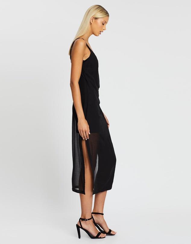 Women Crush Wrap Maxi Dress