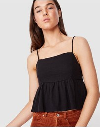 Cotton On - Peplum Camisole