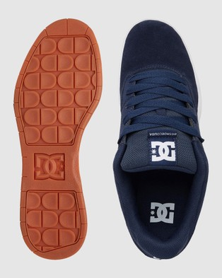 DC Shoes - Mens Central Shoe Low Top Sneakers (DC NAVY/GUM)