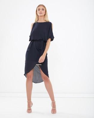 Tussah – Philo Midi Dress Navy