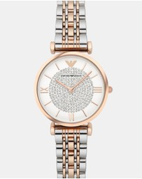 Emporio Armani - Multi-Tone Analogue Watch