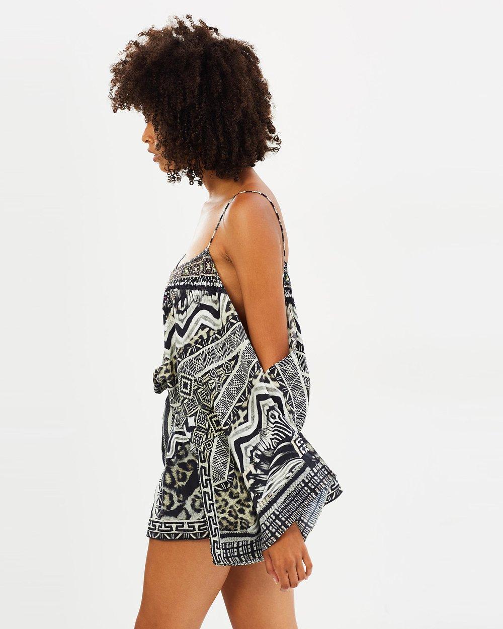9ee77b5f1d Drop Shoulder Playsuit by Camilla Online
