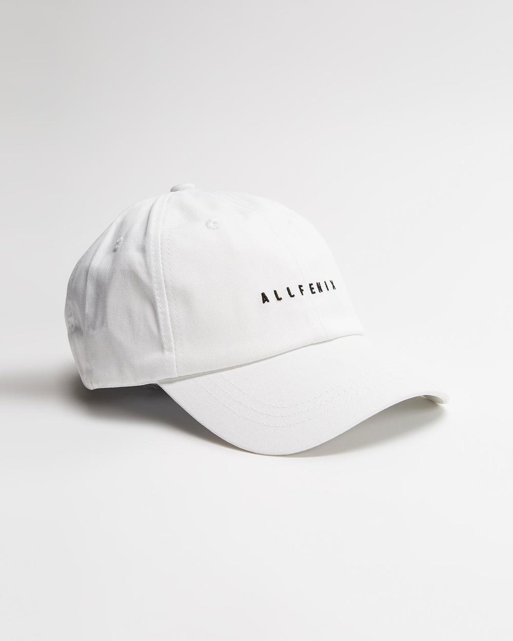 All Fenix Cap Headwear White